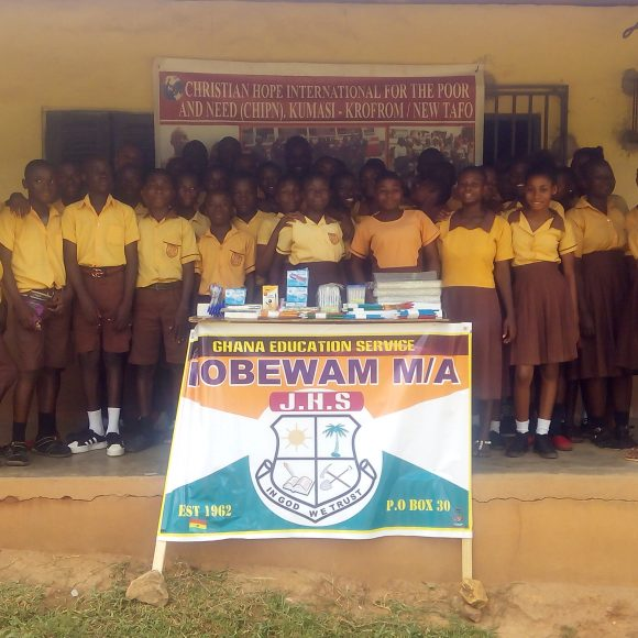 Donations at Nobewam M/A JHS